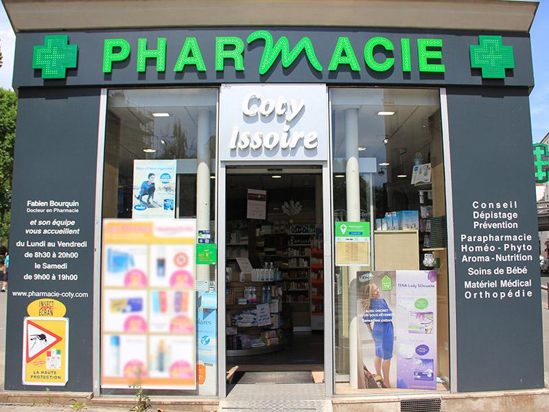 Pharmacie COTY ISSOIRE
